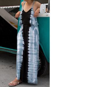 tie dye maxi swimsuit coverup dress MAGGIE 971f3*